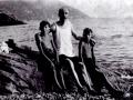 1927 con Ermanno e papà - Camogli GE