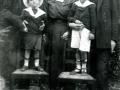 1918 con Ermanno, genitori e nonno Ettore