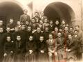 1931 gruppo AC e don Dino Torregiani - oratorio Reggio Emilia
