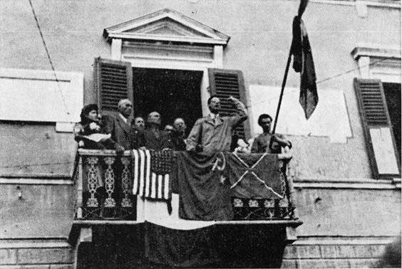 1945 04 24 commemorazione dei caduti della guerra appena conclusa - Cavriago