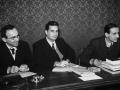 1946-47 con La Pira e Moro I sottocommissione Assemblea costituente - Roma [Foto Alinari]