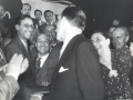1949 06 con De Gasperi e Fanfani - Congresso DC Venezia