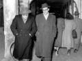 1950 con Bersani nei portici - Bologna