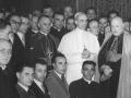 1951 - in udienza da Pio XII alla consacrazione episcopale di Pignedoli, 11 02 1951