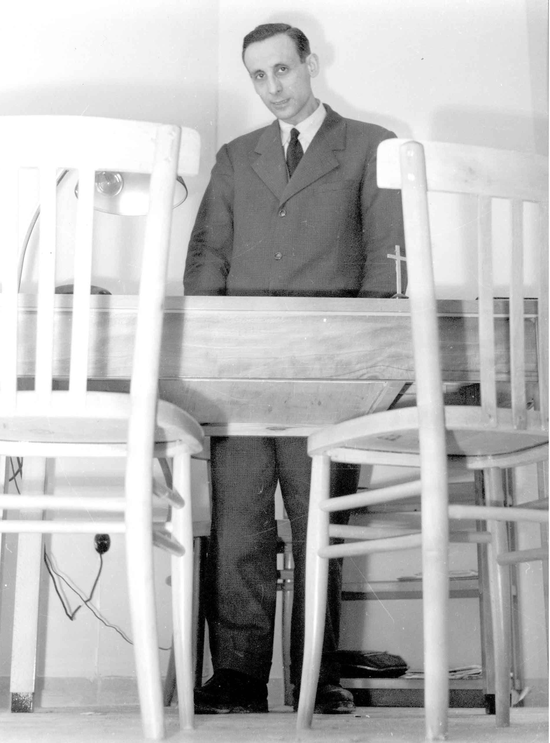 1955 alla sede delle ACLI - via San Vitale Bologna