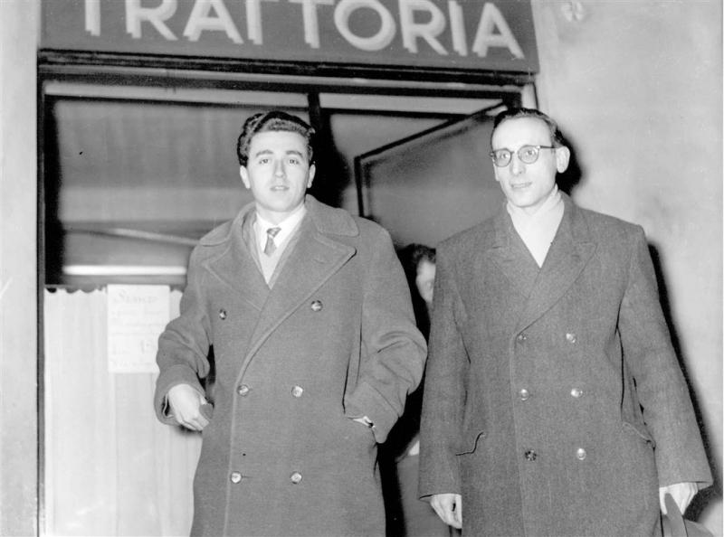 1955 con Tesini - Bologna