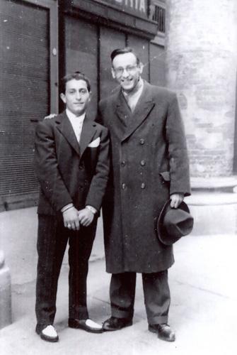 1957 04 con Dante Guaglianone
