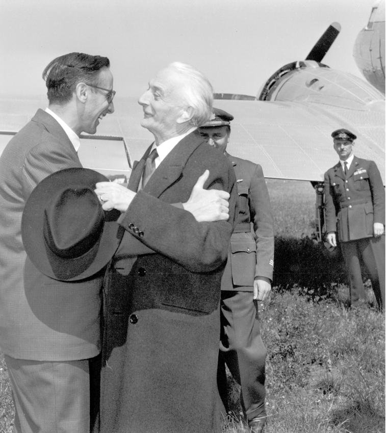 1956 05 23 con il Presidente del Consiglio Segni