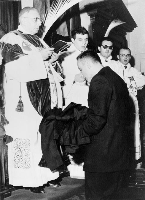 1958 03 30 vestizione - cappella privata Lercaro