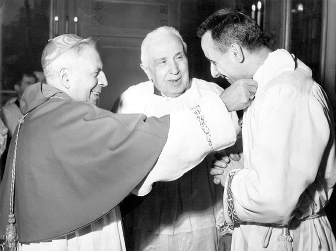 1959 01 06 - ordinazione presbiterale 1 con card Lercaro e mons Malavolta