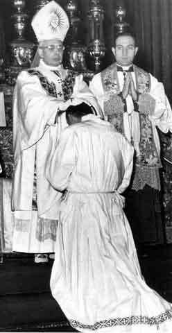 1959 01 06 - ordinazione presbiterale 4 _ card Lercaro - Bologna
