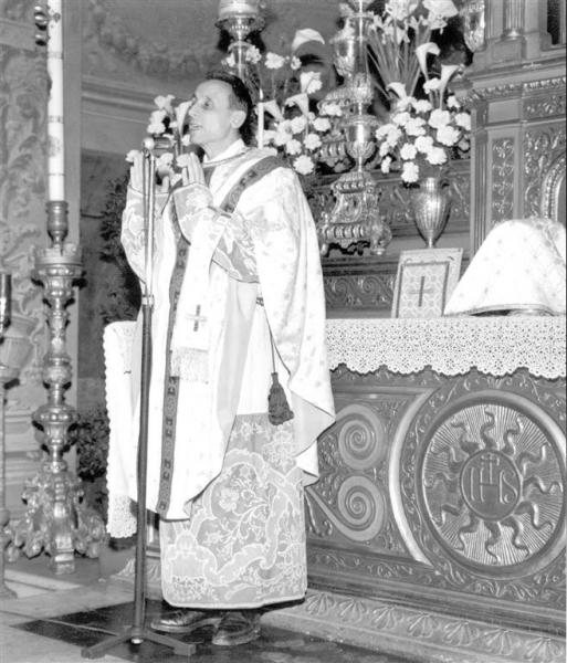 1959 01 18 - messa a Cavriago