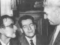 1956-57 con Dozza in Consiglio comunale - Bologna