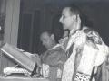1959 01 18 con don Angelo Cocconcelli - messa a Cavriago