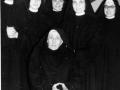 1960 03 25 mamma Agnese con le prime 5 sorelle - San Luca BO