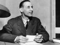 1953 Dossetti al tavolo al Centro di Doc - Bologna