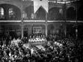 1956 03 19 assemblea pubblica della DC in Sala Borsa 2 - Bologna