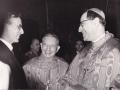 1957 05 con i cardinali Lercaro e Siri, Bologna
