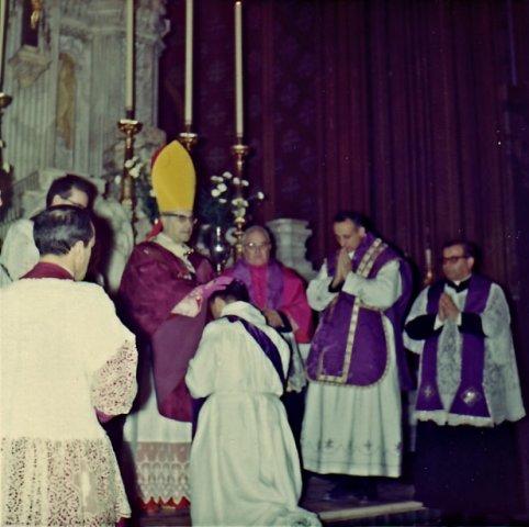 1967 alla ordinazione di Baget Bozzo 1 - Genova