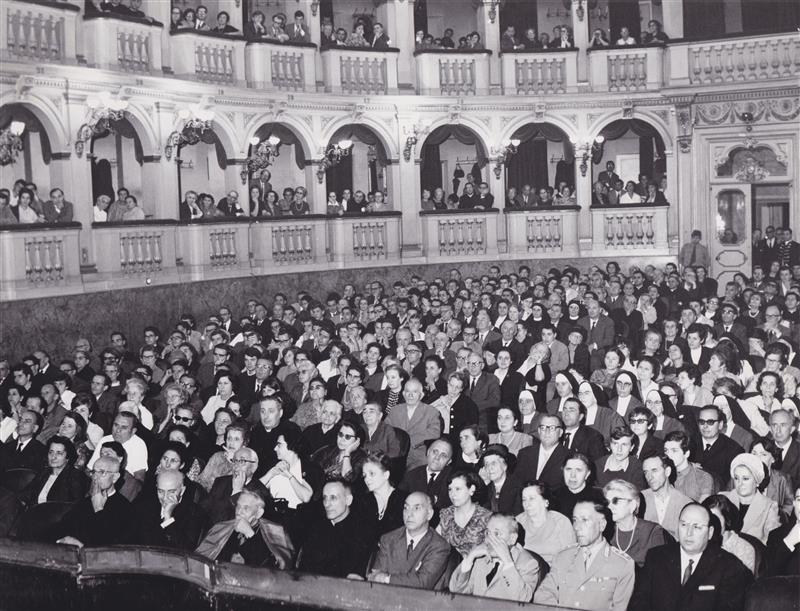 1967 09 con Lercaro congresso eucaristico 01 - Bologna