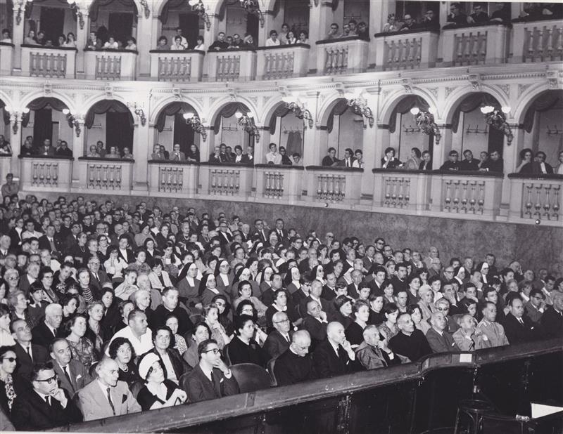 1967 09 con Lercaro congresso eucaristico 02 - Bologna
