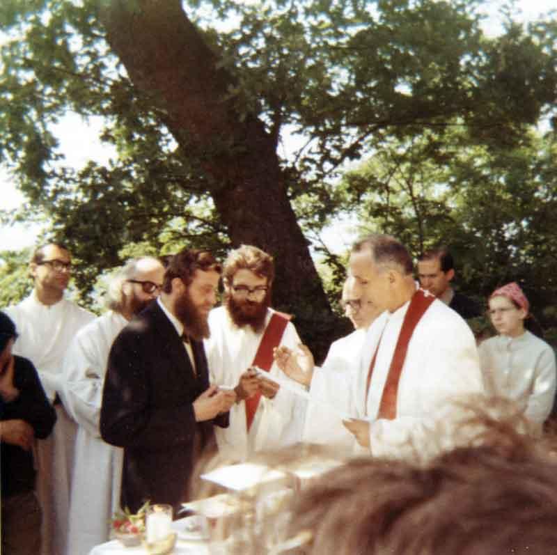 1971 05 30 Unzione degli infermi per Anastasio - S. Antonio