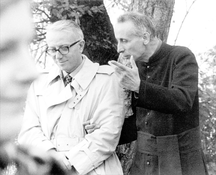 1971 11 con Biagi - S. Antonio, Monteveglio