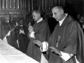1967 09 come Provicario generale accoglie mons Poma - Bologna