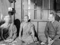 1968 12 13 al Congresso mondiale sul monachesimo - in visita a un monastero buddista, Bangkok