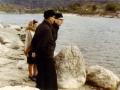 1968 12 26 con Cettina L. e don Umberto N. sulle rive del Gange