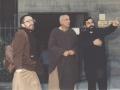 1983 con Francesco e don Romano - casa della carità