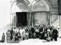 1976-9-16 con pellegrini Bologna - Sepolcro