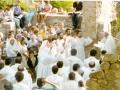 1984 08 15 Messa con sette professioni monastiche - Casaglia, Montesole (1)