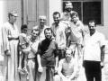 A 1972 gruppo dei fratelli con i vicini di casa - Gerico