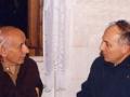 PicFamRis: 1987 11 24 Dossetti con don Giorgio Scatto - Marango VE