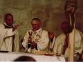 PicFamRis: 1987 11 24 con il Patriarca Ce' e d. Giovanni N. per la Professione di don Giorgio Scatto