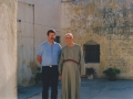 1990x con Daniele - Gerusalemme casa sant'Ignazio (6) (Custom)