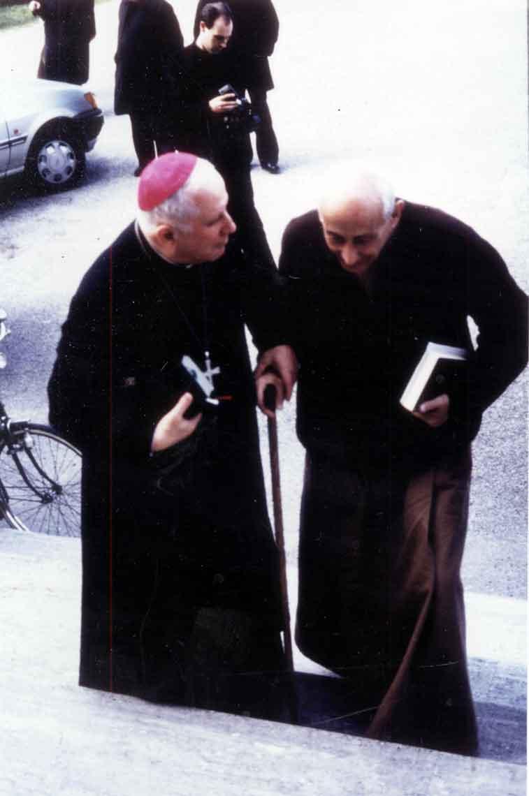 1994 03 17 con Sennen Corrà - Pordenone