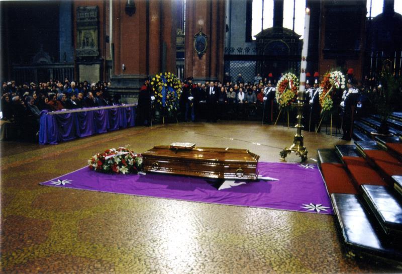 1996 12 18 esequie in san Petronio - Bologna