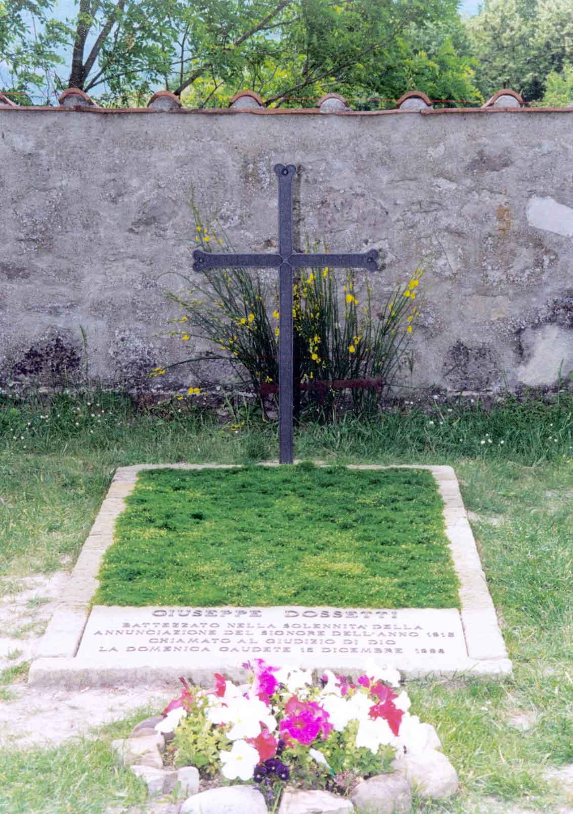 1997 La tomba - Cimitero di Casaglia, Montesole