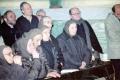 1996 12 18 le prime sorelle, Agnese M. Agata R. e Cecilia I. al funerale - San Petronio BO