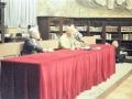25 ottobre 1986 - il tavolo di presidenza