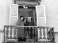 1988 02 13 dal balcone del palazzo comunale - Cavriago