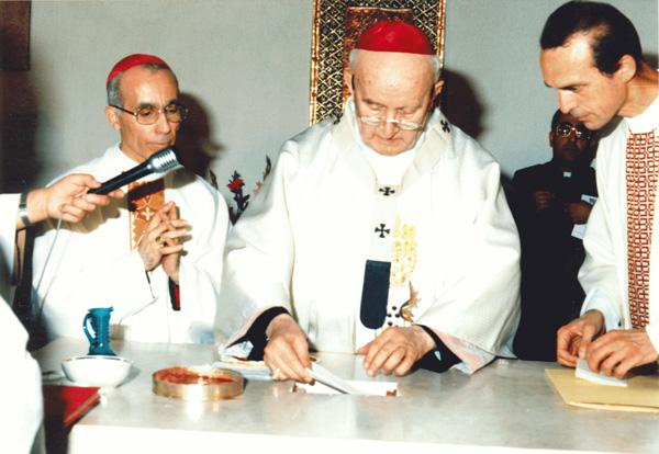 1986 consacrazione altare Main - Salim Beltritti Tommaso