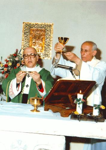 1988 prima visita del patriarca Michel Sabbah - Main