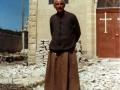 1984 davanti alla chiesa in restauro - Main