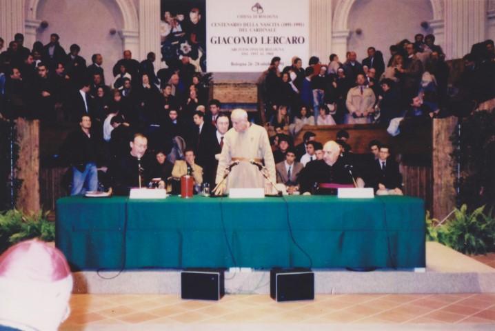 1991 10 per Centenario Lercaro - Aula santa Lucia BO