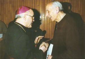 1993 02 17 con mons. P. Gibertini - Reggio Emilia