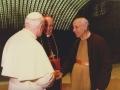 1989 04 09 con papa Giovanni Paolo II a Roma