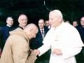 1989 04 09 con papa Giovanni Paolo II - Roma